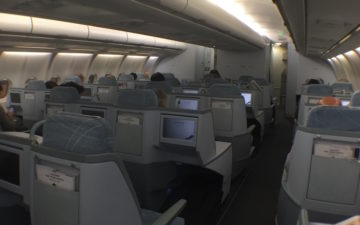 Finnair Business Class A340 – 16