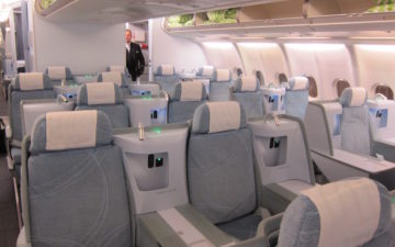 Finnair Business Class A340 – 3