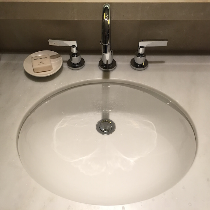 Bathroom Sink Jammed help me solve a worldwide hotel mystery! - one mile at a time