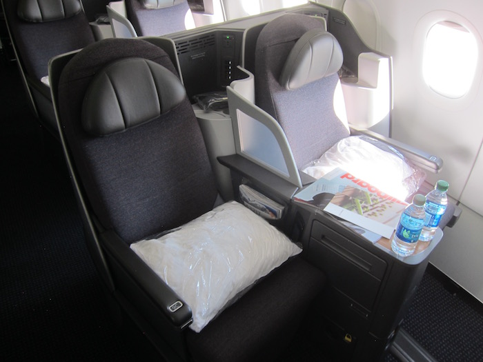 Review American Business Class A321 Los Angeles To New