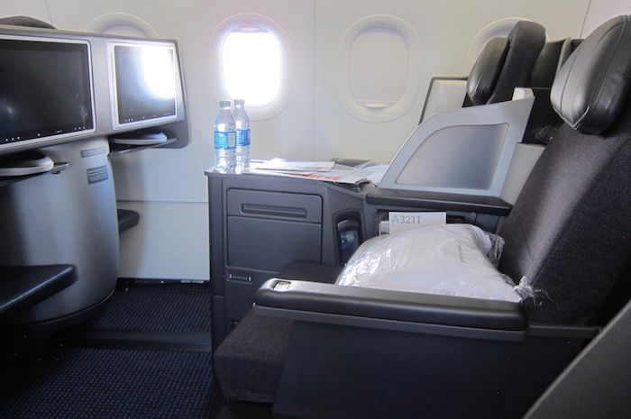 american business class a321 9 one mile at a time. Black Bedroom Furniture Sets. Home Design Ideas