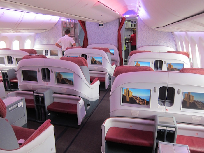 review lan business class 787 madrid to frankfurt one mile at a time