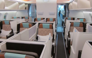Oman Air 787 Business Class – 1