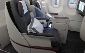 Qatar Airways A320 First Class – 1