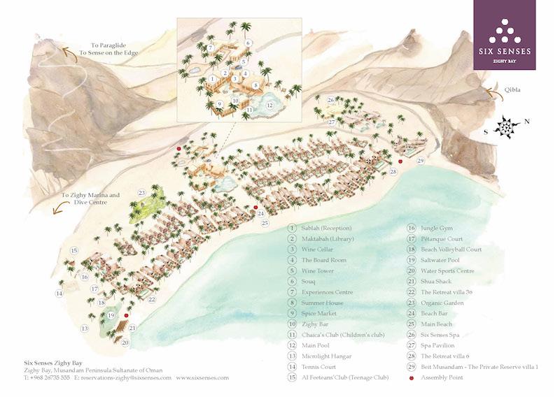 Six-Senses-Zighy-Bay-Map