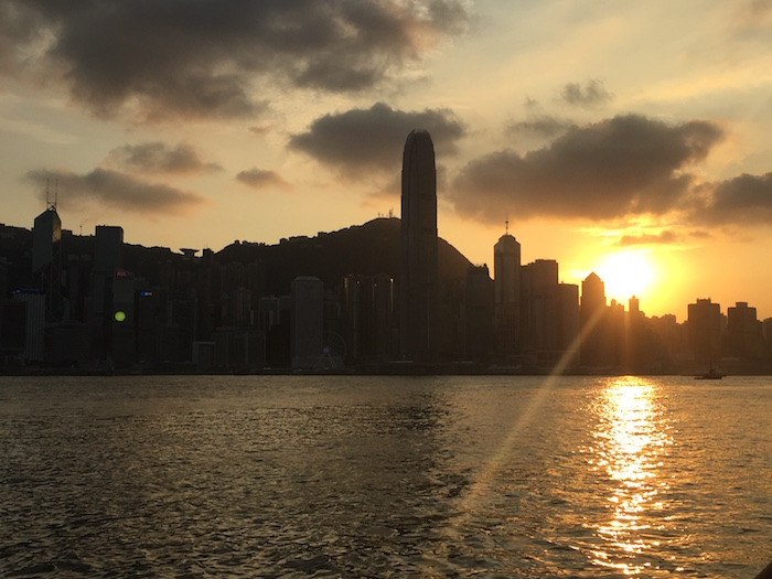 Hong-Kong-Sunrise