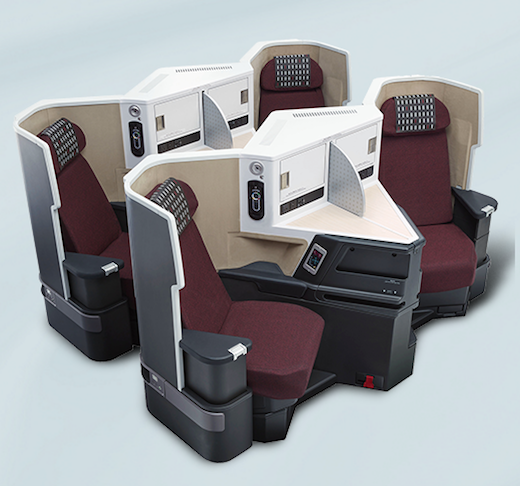 Japan Airlines Announces New 777 200er Business Class Seat