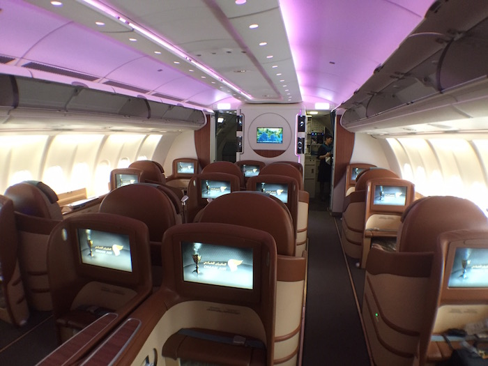 Review: Oman Air Business Class A330 Bangkok To Muscat | One