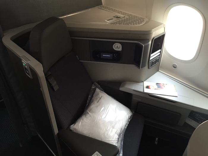 best american airlines 787 business class seats one mile at a time