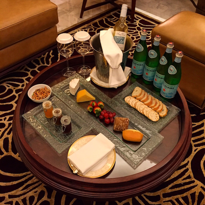 Starwood-Ambassador-Welcome-Amenity