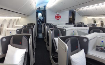 Air Canada Business Class 787 – 1