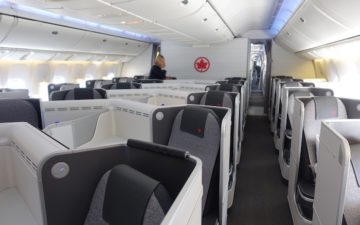 Air Canada 777 Business Class – 1