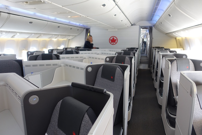 Review Air Canada Business Class 777 London Heathrow To