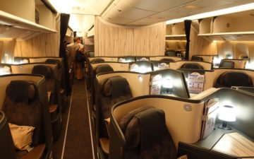 China Airlines Business Class 777 – 10