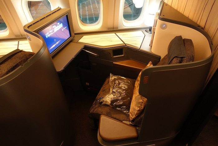 Review China Airlines Business Class 777 300er Los