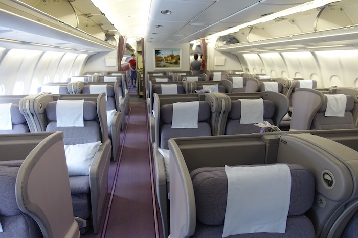 China airlines business class a330 1 one mile at a time - China southern airlines hong kong office ...