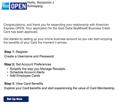 My Experience Being Approved For The Delta Gold Business Amex One
