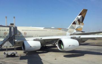 Etihad Arrivals Lounge Abu Dhabi – 1