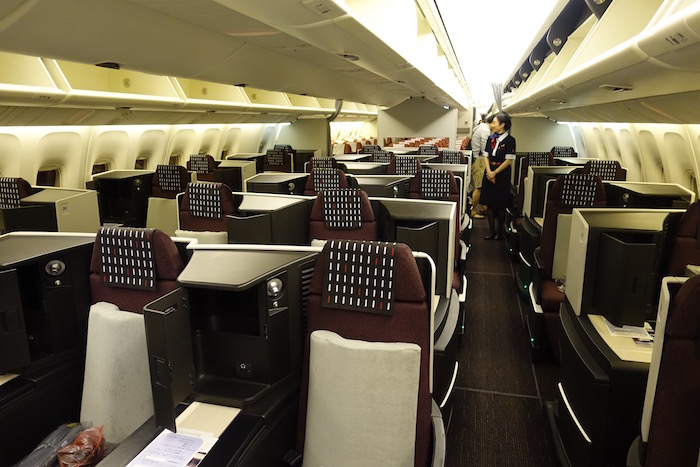 Japan-Airlines-Business-Class-767 - 1