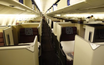 Japan Airlines Business Class 777 – 1