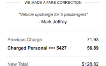 Uber Price Quote >> My Horrible Fraudulent Uber Driver What Was He Thinking One