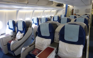 China Eastern A330 Business Class – 1