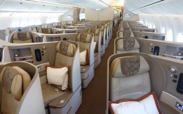 China Eastern Business Class 777 – 4