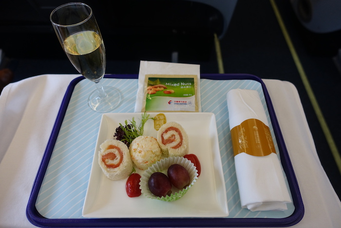 China-Eastern-Business-Class-Food