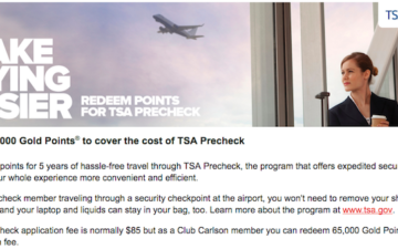 Club Carlson Points