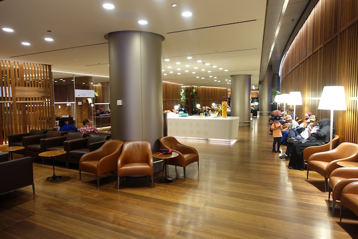 Oryx lounge doha airport one mile at a time