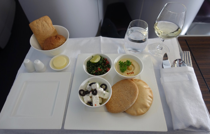 My Qatar Airways A340 Business Class Flight In 10 Pictures