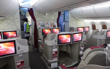 Royal Air Maroc Business Class 787 – 2