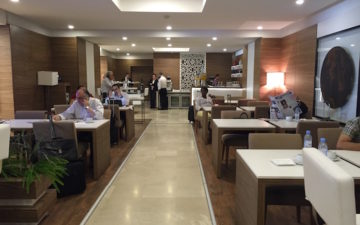 Royal Air Maroc Lounge Casablanca – 12
