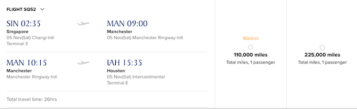 Official: Singapore Airlines Adding Manchester To Houston ...