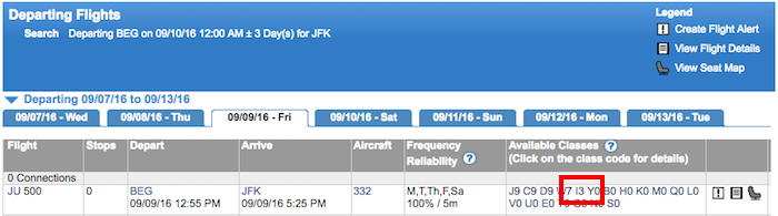 Air-Serbia-Availability