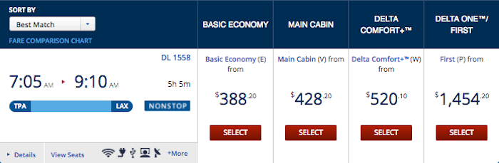 Delta Basic Economy 1 One Mile At A Time
