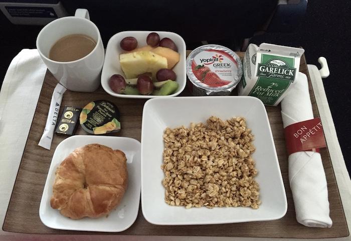 Delta-First-Class-Breakfast