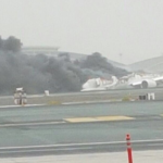 Emirates Crash Land