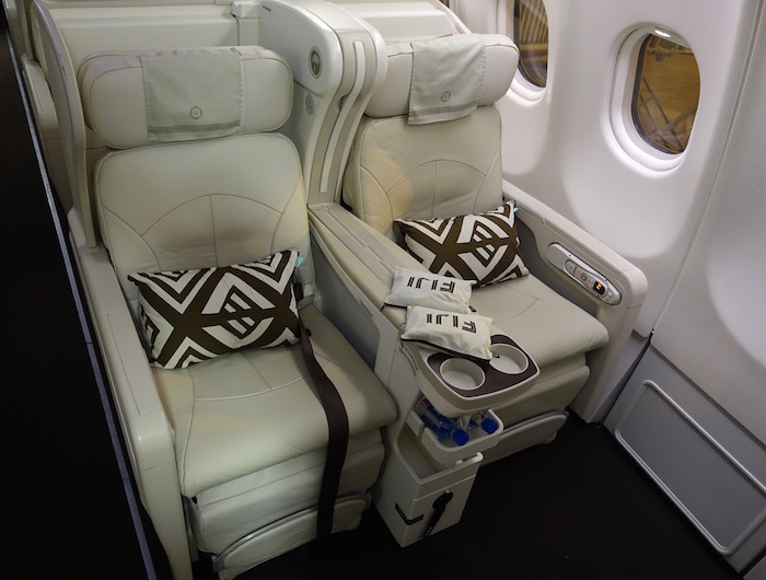 Review Fiji Airways Business Class A330 Nadi To Los