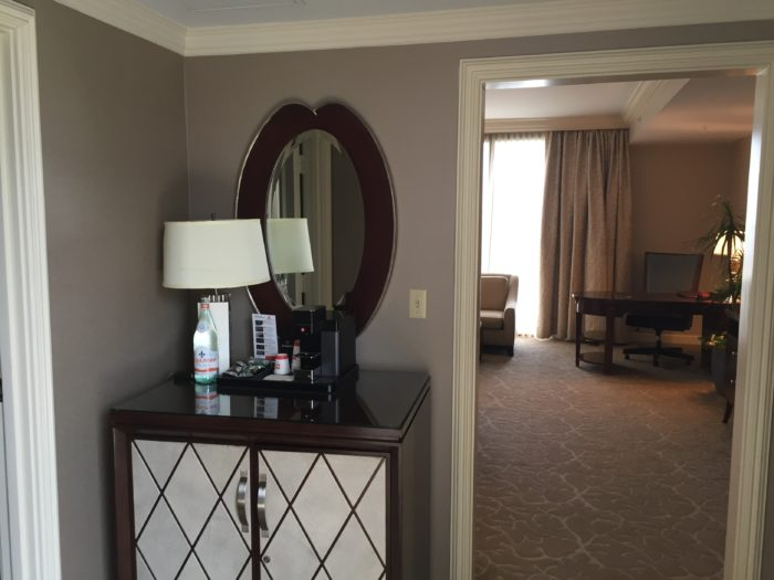 St. Regis Houston Grand Luxe Room minibar