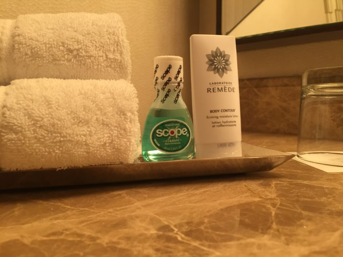 St. Regis Houston bath amenities