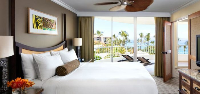 Guestroom at the Fairmont Kea Lani in Maui