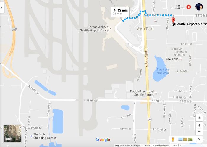 Marriott-SEA-Location