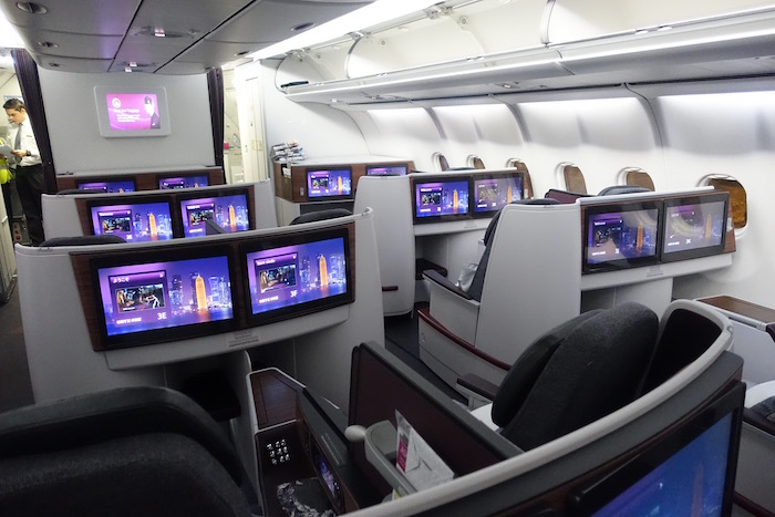 Review: Qatar Airways Business Class A340 Doha To Colombo - One Mile at a Time