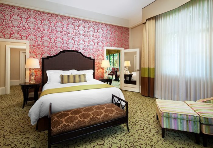Renovated historic room at Starwood's Royal Hawaiian in Honolulu