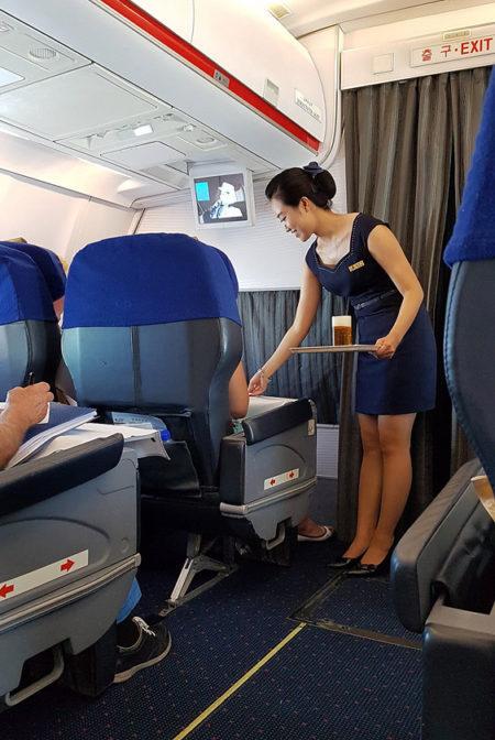 emirates flight attendant