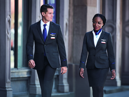 American Airlines New Uniforms Debut Today One Mile At