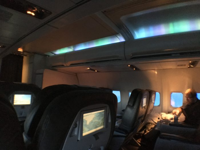 Northern lights onboard!