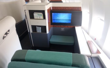 Korean Air 747 First Class 6