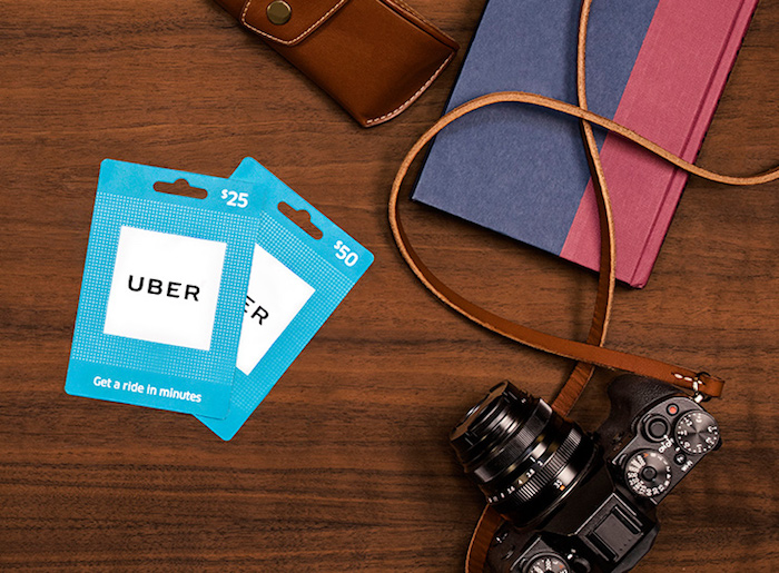 how to add gift card to uber